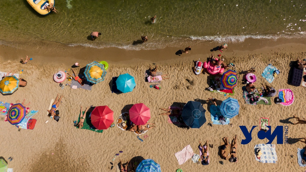 Самые дальние пляжи Одессы с высоты птичьего полета (фото) «фото»