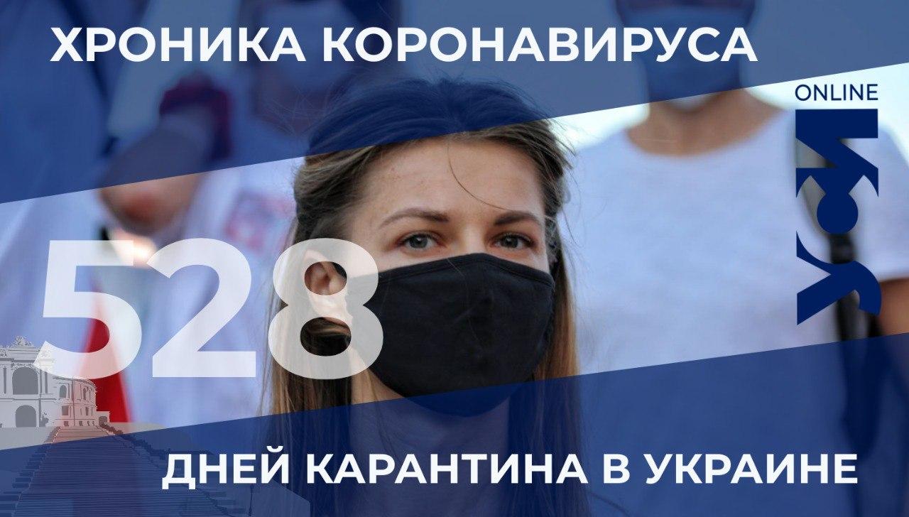 Хроники пандемии: в Одесской области – 127 заболевших и 3 летальных случая «фото»