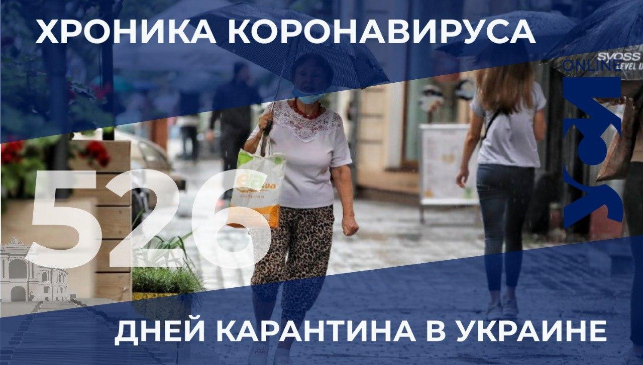 COVID-19: в Одессе и области 105 новых заболевших «фото»