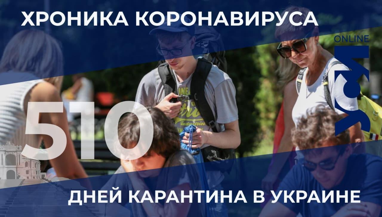Одесская область – в тройке по количеству зараженных COVID-19 за сутки «фото»
