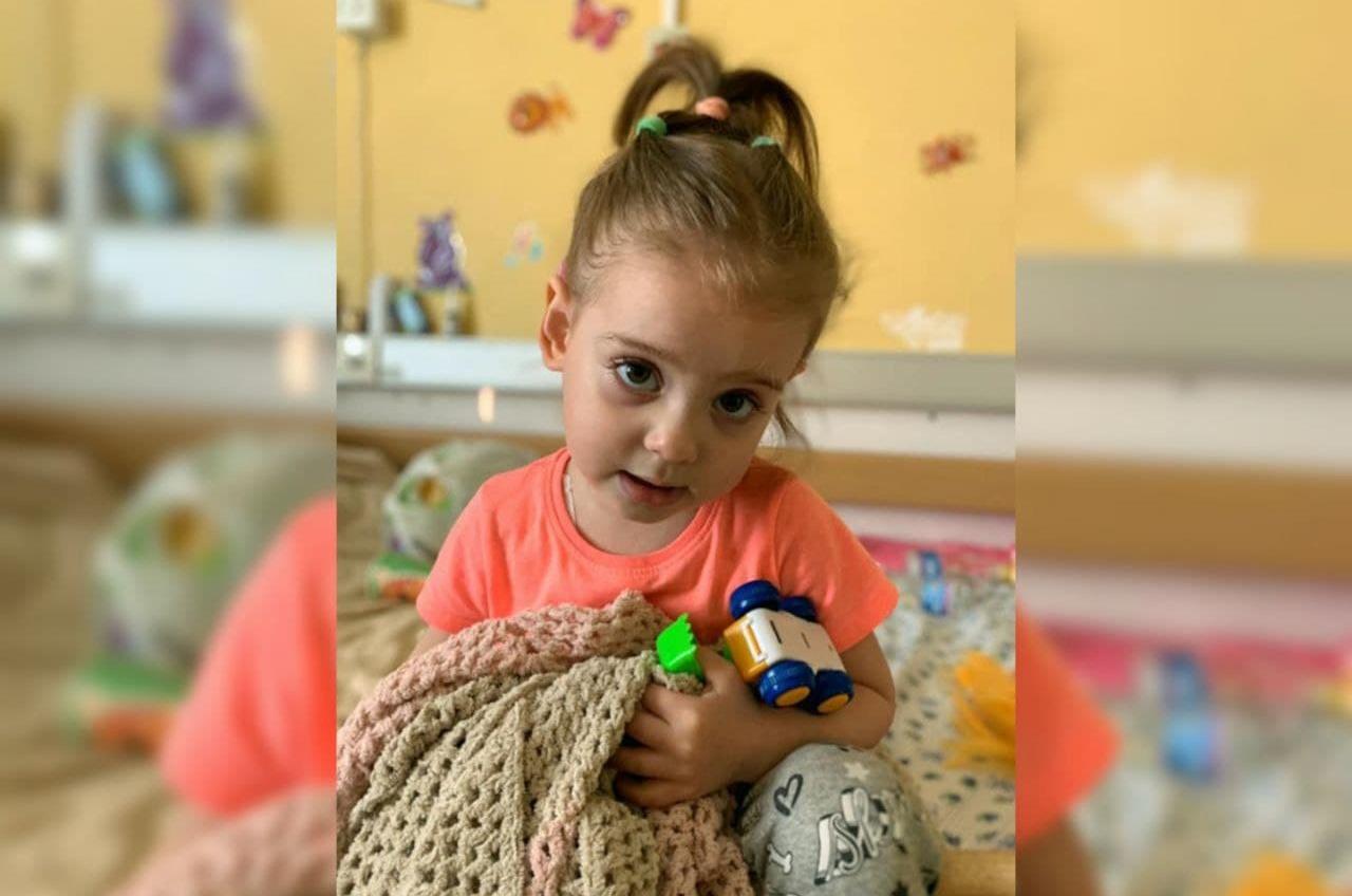 Одна на миллион: в Одессе собирают деньги для 2-летней девочки с редкой болезнью «фото»