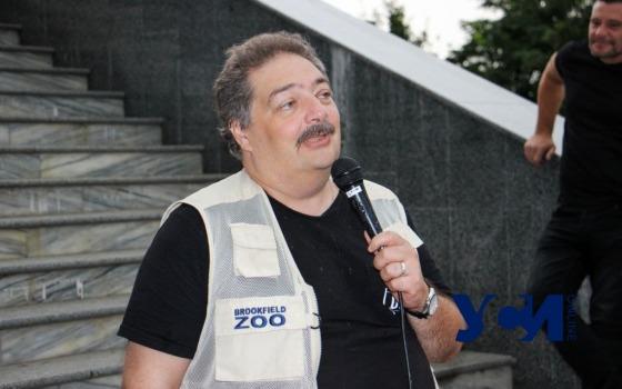 В Одессе российский писатель Быков открыл памятную табличку, посвященную Чуковскому (фото, аудио) «фото»