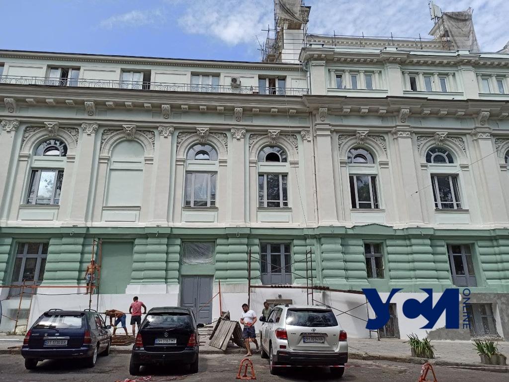 Реставрация Украинского театра продолжается: сняли строительные леса (фото) «фото»