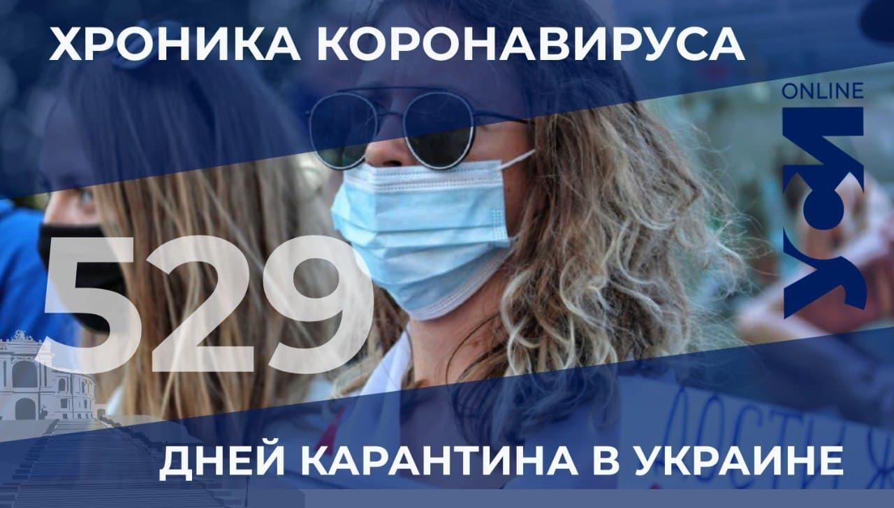 COVID-19: в Одесской области 4 летальных случая «фото»