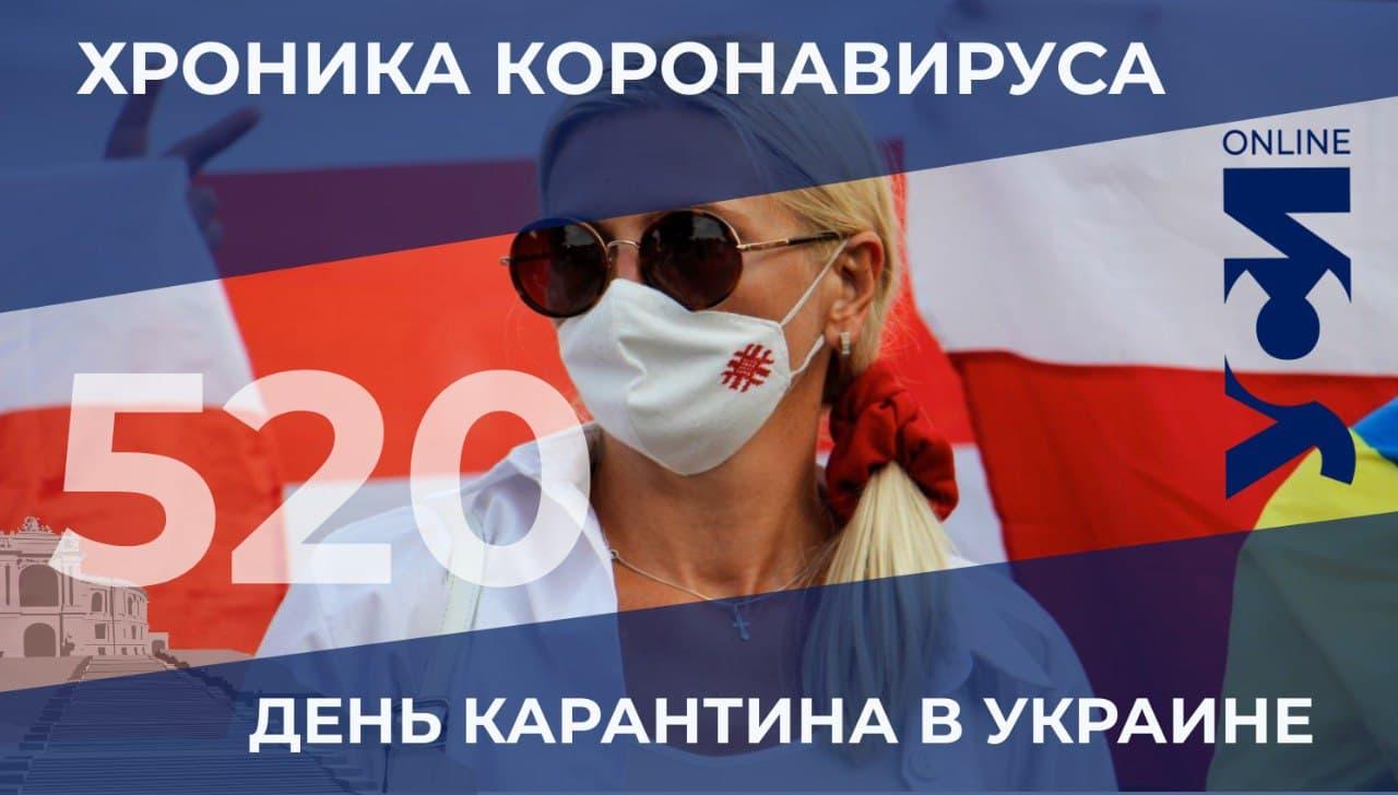 Хроника COVID-19: заболеваемость растет — Одесская область на втором месте «фото»