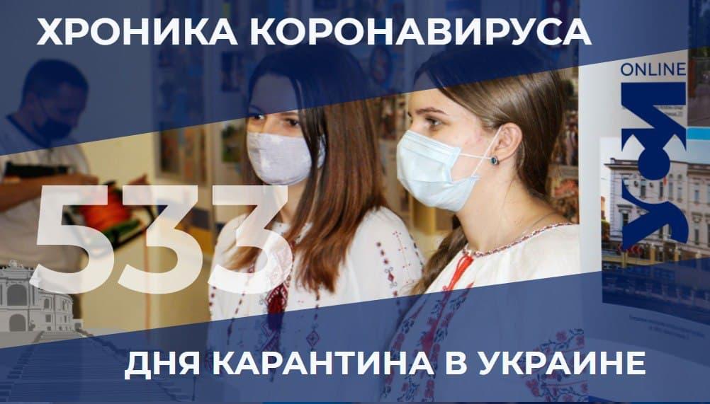 COVID-19: Одесская область снова среди лидеров «фото»
