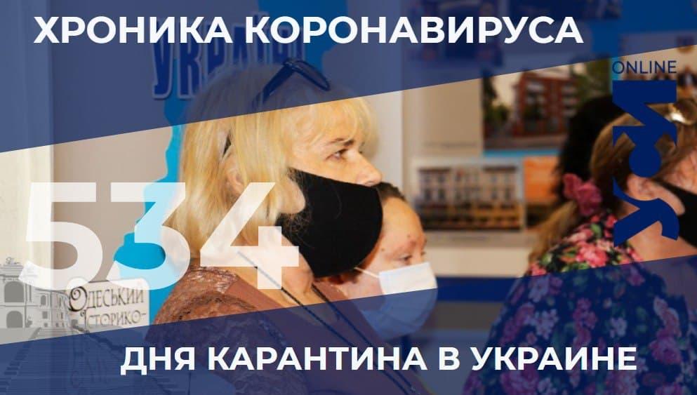 Хроника пандемии: в Одесской области – 4 летальных случая «фото»