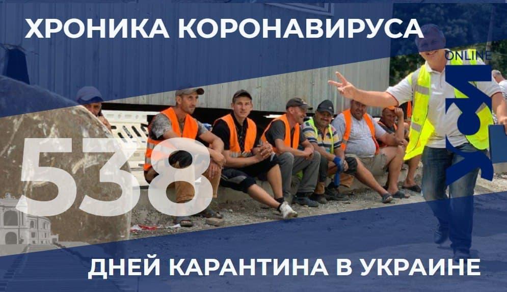 Хроника пандемии: Одесская область снова в лидерах по числу заразившихся «фото»