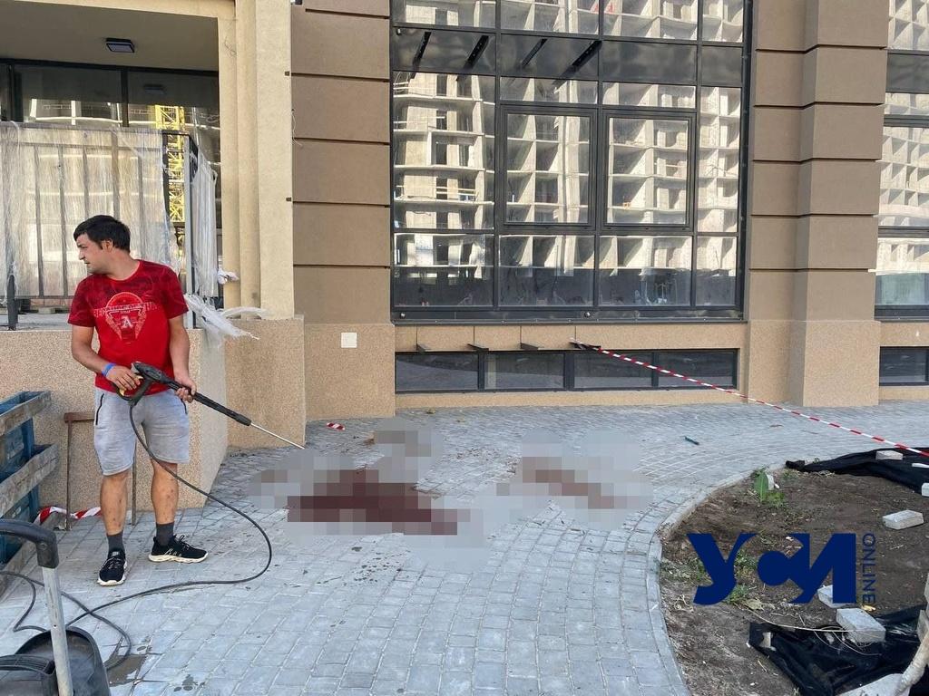 Работали без страховки: подробности трагедии в Фонтанке (фото) «фото»