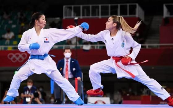 Одесская каратистка получила серебро на Олимпиаде «фото»
