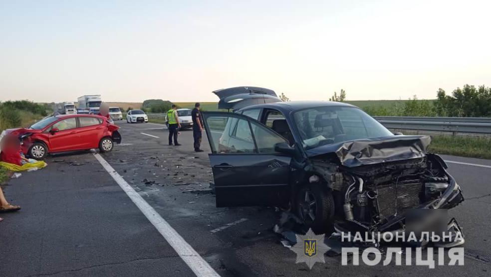 ДТП на трассе Одесса-Киев: пострадали двое детей и женщина (фото) «фото»