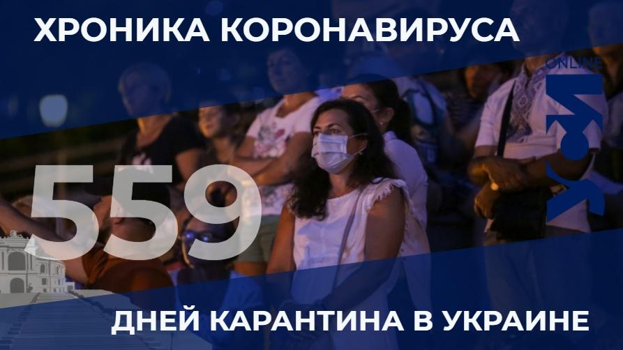 Хроники пандемии: в Одесской области – 18 летальных случаев «фото»