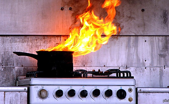 В Измаиле горела квартира из-за невыключенной газовой плиты «фото»