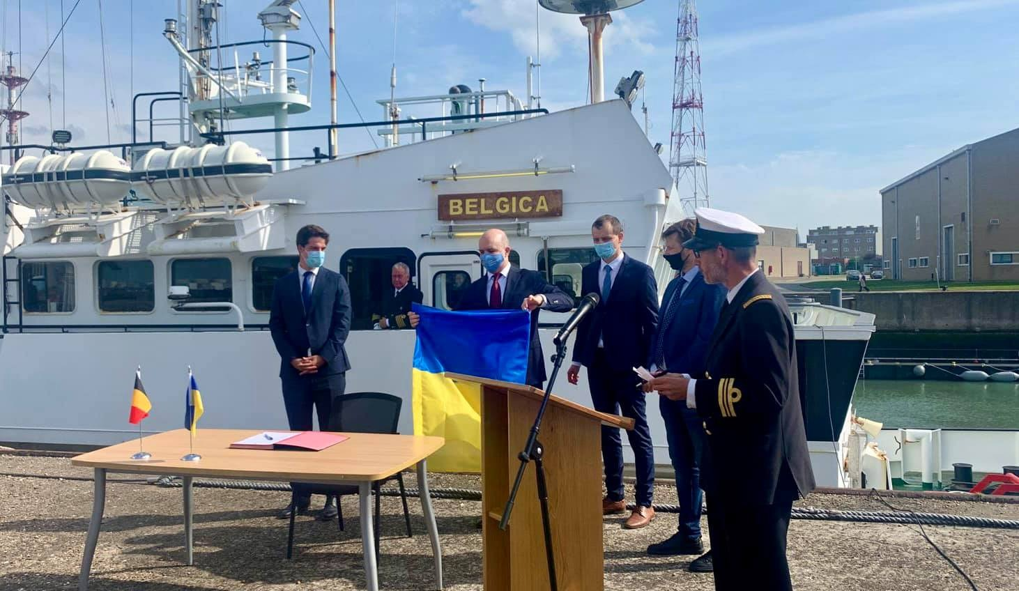 В Одессу прибудет бельгийское судно для научных исследований (фото) «фото»