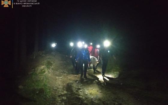 Взрыв на привале: в Карпатах погибли двое туристов, четверо пострадали «фото»