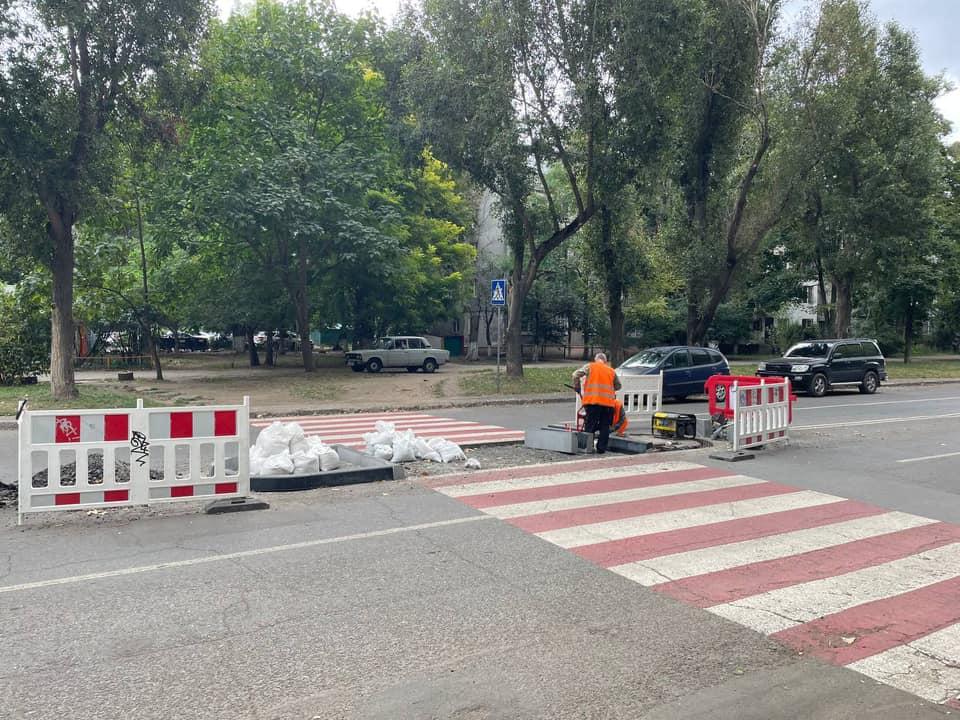 На улицах Одессы установят 5 островков безопасности (фото)
