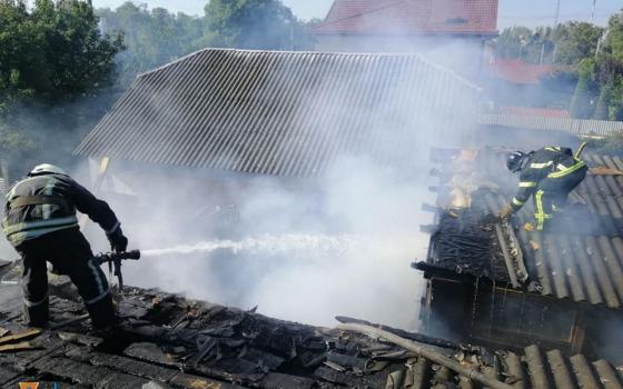 Под Одессой горел частный дом (фото) «фото»