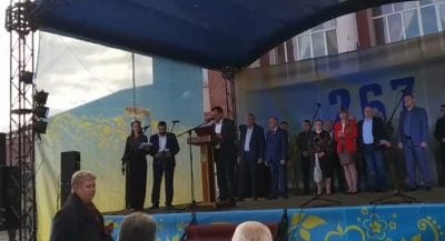 Не смог прочитать: мэр Кодымы опозорился в день города (видео) «фото»
