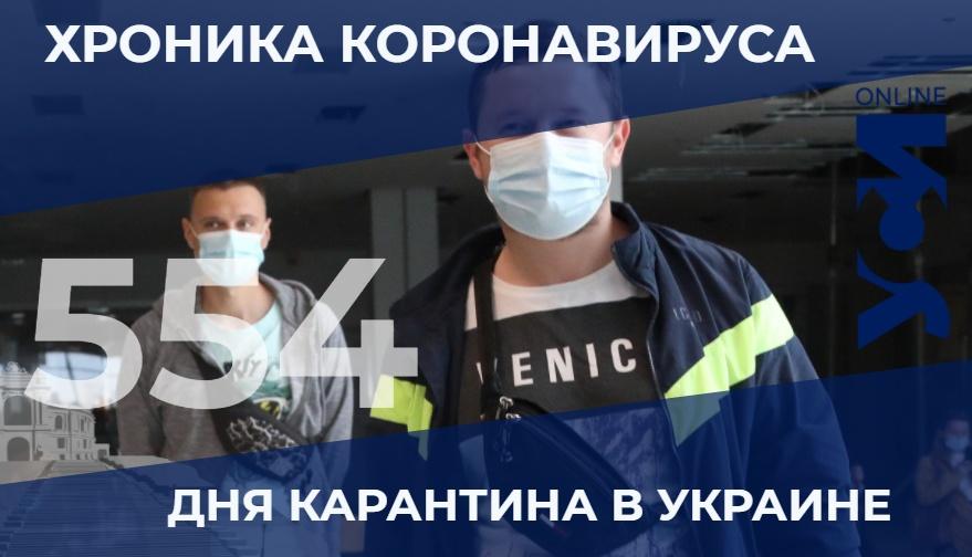Хроники пандемии: в Одесской области – 16 летальных случаев «фото»
