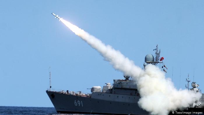 Россия будет проводить ракетные стрельбы в Черном море «фото»