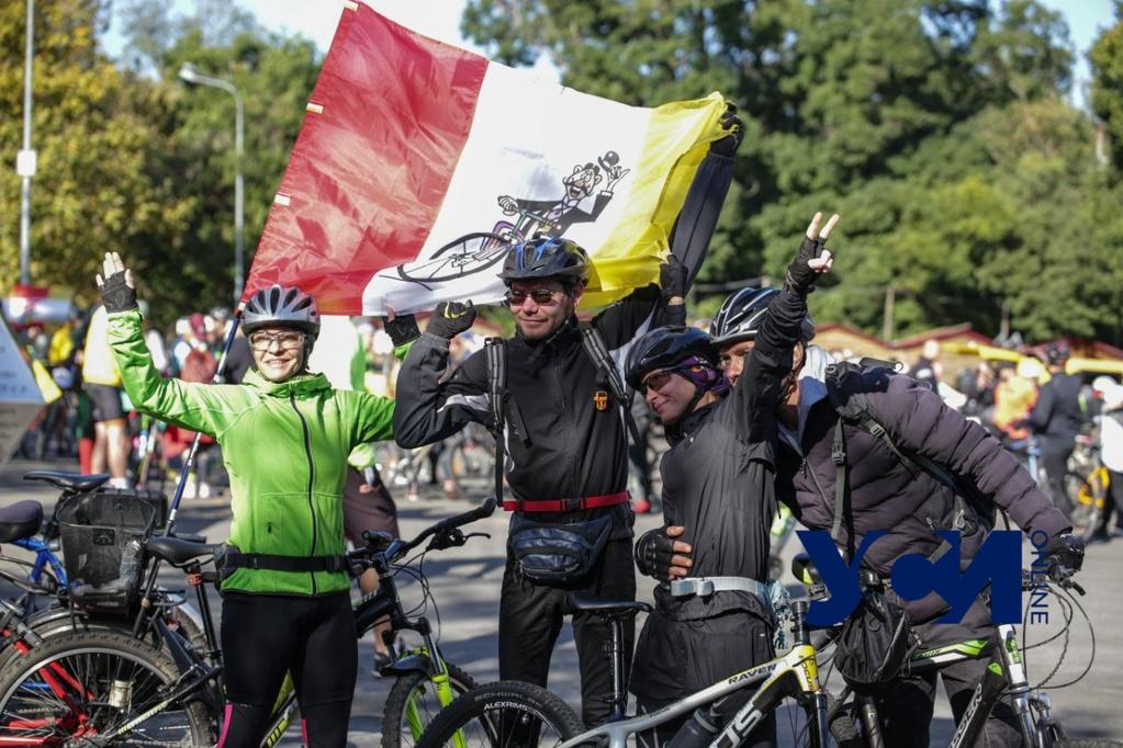 В Одессе стартовали пробег и велосотка по Поясу Славы (фото) «фото»