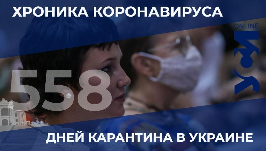 COVID-19: за сутки в Одесской области скончались четыре человека «фото»