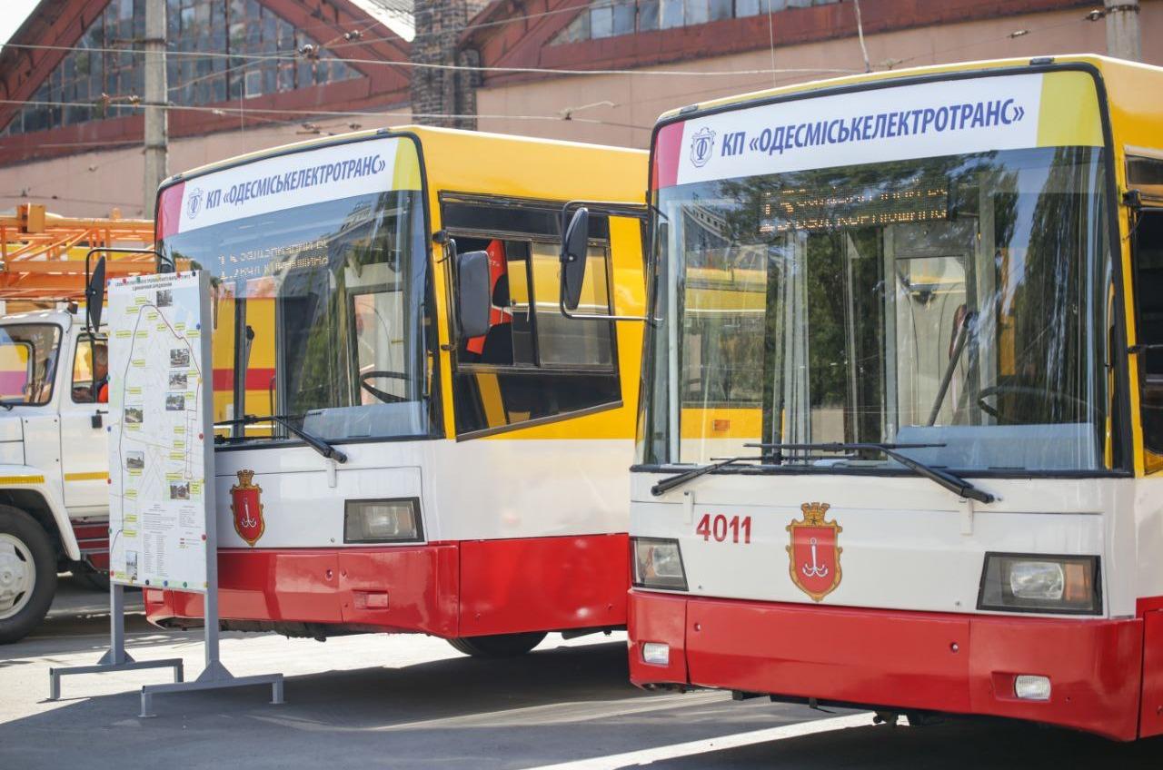 Со следующей недели по Балковской в Одессе поедут электробусы (фото) «фото»
