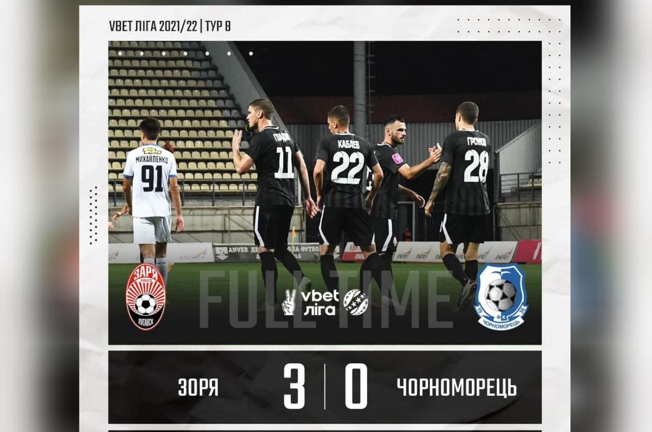 «Черноморец» терпит четвертое крупное поражение в сезоне, 0:3 от участника еврокубков (фото) «фото»