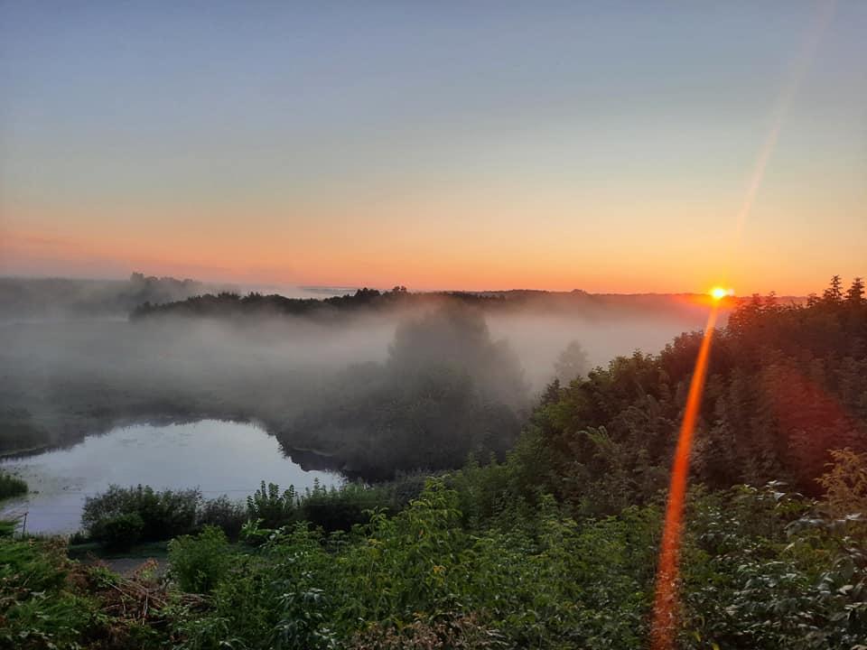 Одесские фотографы не смогли упустить первый осенний рассвет (фото) «фото»