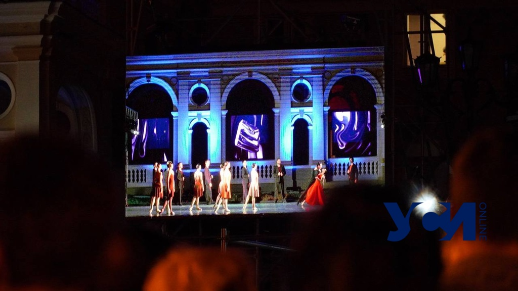 Open-air балет прошел возле Оперного театра (фото, видео) «фото»