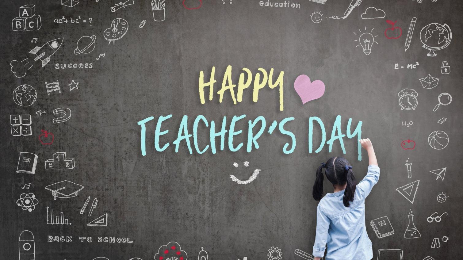 День учителя: топ-8идей для поздравления к празднику «фото»