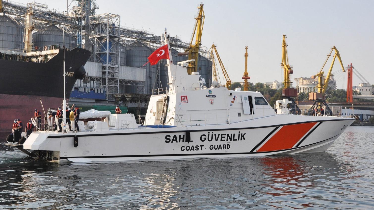 В Одесском порту гостит катер Береговой охраны Турции (фото) «фото»