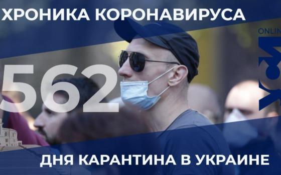 Пандемия: в Одесской области – 16 летальных случаев за сутки «фото»
