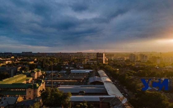 Закат и «портал» в тучах над осенней Одессой (фото) «фото»