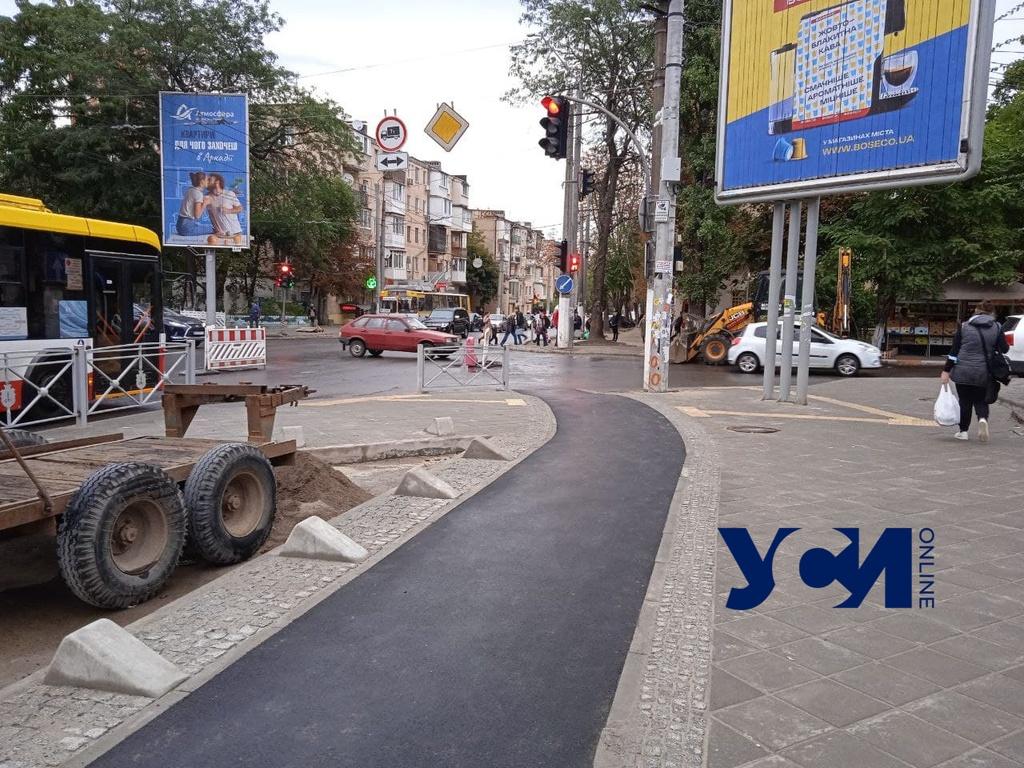 На Черняховского появились первые велодорожки: они односторонние (фото) «фото»
