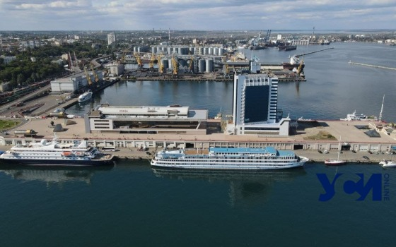 В порт Одессы впервые за два года зашел круизный лайнер (фото) «фото»