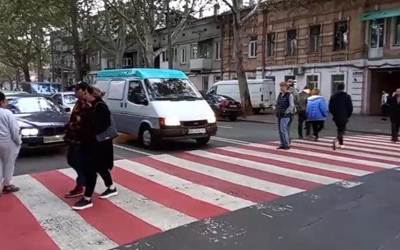 Жители Молдаванки перекрыли дорогу из-за стройки (стрим) «фото»
