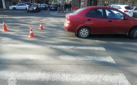 В центре Одессы на переходе сбили женщину «фото»