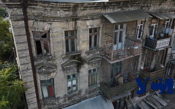 Одесситы просят снести аварийный дом, который вот-вот рухнет (фото) «фото»