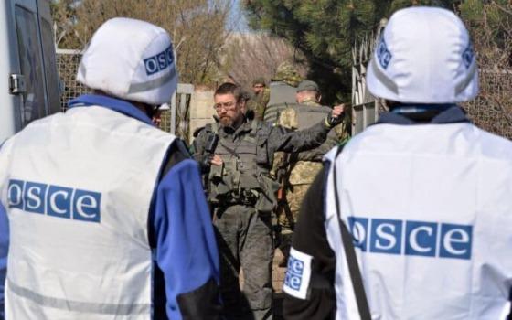 ОБСЕ возобновила патрулирование в Горловке «фото»