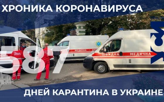 Хроника пандемии: в Одесской области за сутки умерли 24 человека «фото»