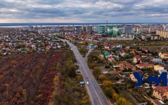 Осень под Одессой с высоты птичьего полета (фото, видео) «фото»