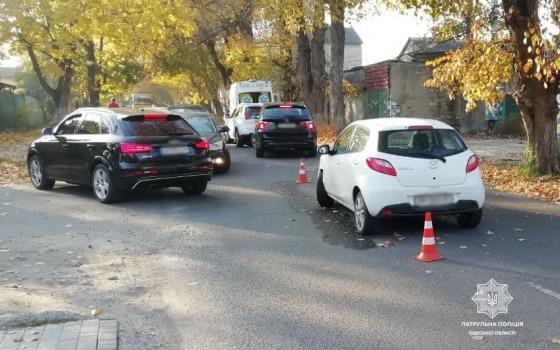 В аварии на Костанди пострадали двое детей (фото) «фото»