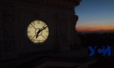 Октябрьское небо над Одессой (видео) «фото»