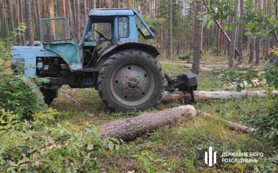 В Одесской области лесник организовал незаконную торговлю древесиной (фото) «фото»
