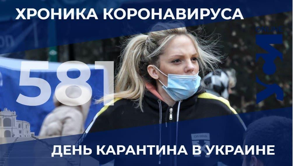 Хроника пандемии: в Одесской области 38 летальных случаев «фото»