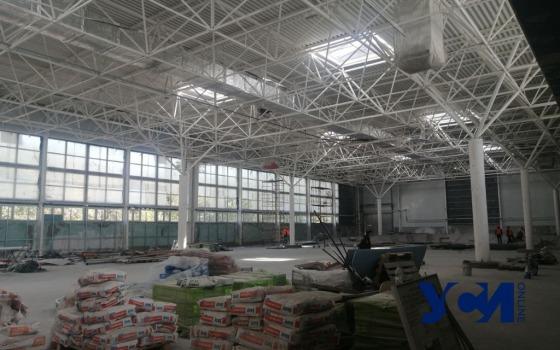 Реконструкция «Олимпийца»: работы обещают закончить до конца ноября (фото) «фото»