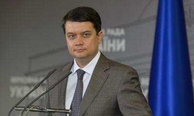 Зеленский заменил Разумкова в СНБО «фото»